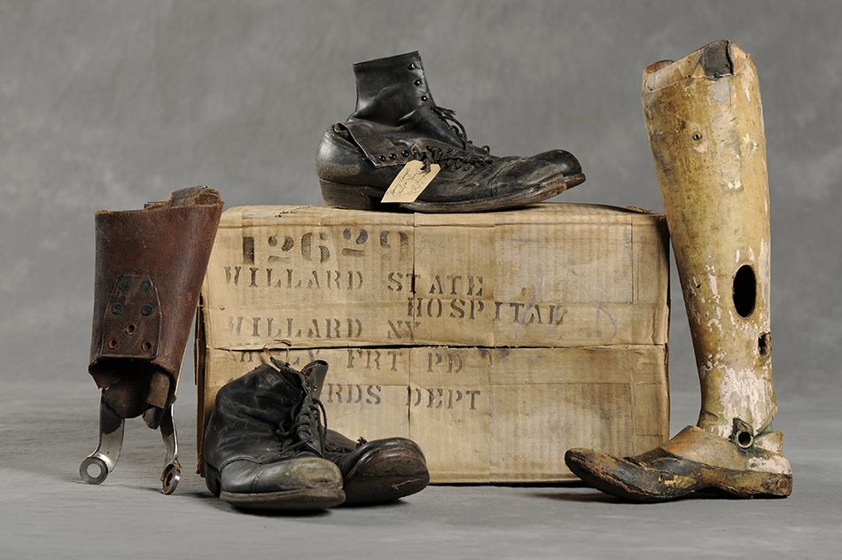 Willard Asylum Suitcases: slideshow photograph 5